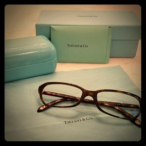 Women's Tiffany Brown Havana Heart Glasses